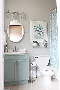 Small bathroom makeover @ Home Improvement Ideas