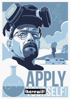 Breaking Bad was the best TV series of all time. Learn about Breaking Bad and get information on the Breaking Bad cast here. Breaking Bad Poster, Breaking Bad Arte, Serie Breaking Bad, Breaking Bad Seasons, Poster A3, Poster Prints, Breking Bad, Bad Fan Art, Mejores Series Tv