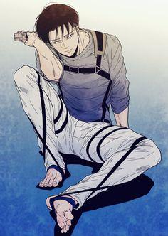 Levi_Attack on Titan Levi Ackerman, Eren E Levi, Levi And Erwin, Armin Snk, Attack On Titan Fanart, Attack On Titan Levi, 5 Anime, Hot Anime Guys, Aot Characters