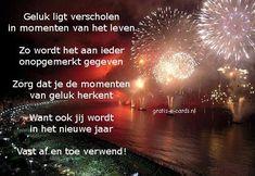 gratis e-cards versturen - Nieuwjaar - Nieuwjaar, geluk ligt verscholen