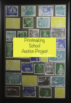 Reno's Best – Printmaking Children's Art Auction Project