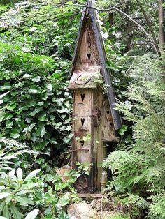 Another Bird House birdhouse Twig enhanced birdhouse Birds and bird houses Bird Boxes, Fairy Houses, Yard Art, Beautiful Birds, Bird Feeders, Outdoor Gardens, Garden Design, Backyard, Rustic Birdhouses