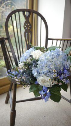 Blue Wedding Flowers, Floral Wreath, Crown, Wreaths, Inspiration, Home Decor, Blue Flowers For Wedding, Biblical Inspiration, Floral Crown