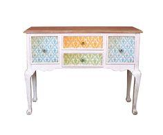 #Sideboard Jorit 107x82 Mehrfarbig Antik Design 4 Schübe Für Dich auf: https://www.delife.eu/sideboard-jorit-107x82-mehrfarbig-antik-design-4-schuebe/a-9296/?campaign=smm%2Fpinterest