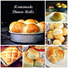 Homemade Yeast Rolls #Thanksgiving