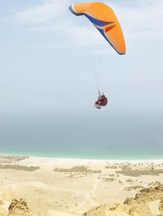 Retreat to the mountainous shores of Oman and keep active with #adventure filled activities, including #paragliding and mountain biking, before indulging in restorative massages & treatments, to help bring you back down to earth & soothe your muscles.