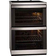 AEG 49332I-MN 60cm Double Oven Electric Cooker - Stainless Steel