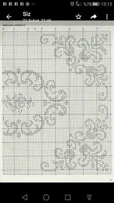 Folk Embroidery, Cross Stitch Embroidery, Embroidery Patterns, Stitch Patterns, Crochet Patterns, Cross Stitch Borders, Cross Stitch Designs, Cross Stitch Quotes, Filet Crochet Charts