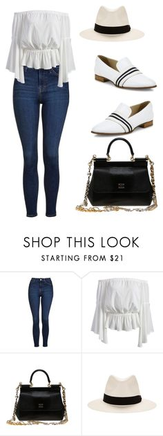 """""""Casual Weekend"""" by bonolon on Polyvore featuring Topshop, Dolce&Gabbana and rag & bone"""