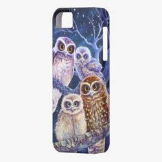 Awesome! This Boobook owl family. iPhone 5 covers is completely customizable and ready to be personalized or purchased as is. It's a perfect gift for you or your friends.