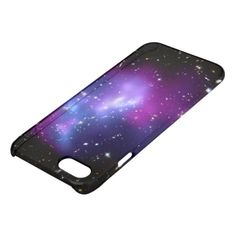 Purple Galaxy Cluster iPhone 7 Case