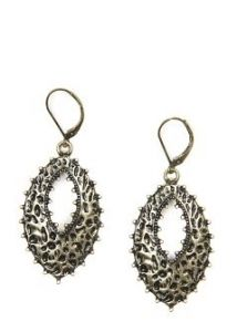 Mango  TOUCH - Embossed earrings