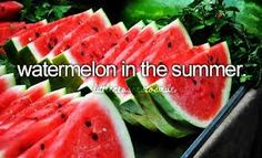 Watermelon reminds me of christmas because, well, you can guess that part yourself.
