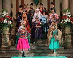 Desfile en el Palacio Quemado