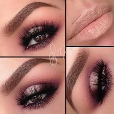 Elegant make up.