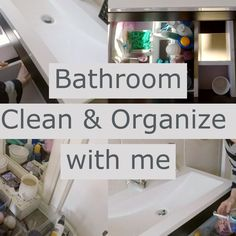 I was so excited to film this bathroom organizing video because this main bathroom drawer NEEDED a good clean out and organizing!