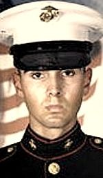 Marine Corps LCpl. Antonio J. Sledd, 20, of Hillsborough, Florida. Died October 8, 2002, serving during Operation Enduring Freedom. Assigned to 3rd Battalion, 1st Marines, 11th Marine Expeditionary Unit, Camp Pendleton, California. Died of wounds sustained when hit by small-arms fire directed by two terrorists who drove up and attacked his unit while engaged in an urban training exercise in Failaka, Kuwait.