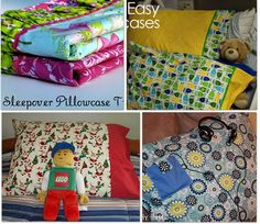 18 easy sewing patterns using a pillowcase