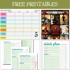 Great printables along with cards and others!