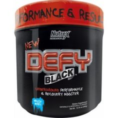 Nutrex : DEFY BLACK Performance & Recovery Booster! Your Perfect Intra Workout Formula To Be Consumed While You Train!