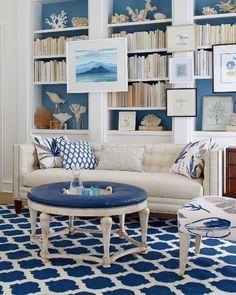 80+ Modern Coastal Living Room Interior Ideas http://homekemiri.com/80-modern-coastal-living-room-interior-ideas/
