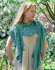 Ravelry FREE Kudzu Shawl--free knit pattern by Rachel Henry