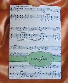 Invitatie de nunta, realizata din cartoane sidefate. Invitatia este ideala pentru nuntile avand drept tema muzica. 4,5RON* *Pretul include TVA, personalizare (imprimare color) si asamblare Sheet Music, Journal, Wedding, Valentines Day Weddings, Weddings, Marriage, Music Sheets, Chartreuse Wedding