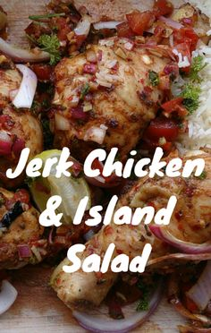 Two best friends competed in a competitive grilling competition to find out who's dish would please the taste-testers the most. It turns out, this Jerk Chicken and Island Salad recipe was quite the spicy contender!