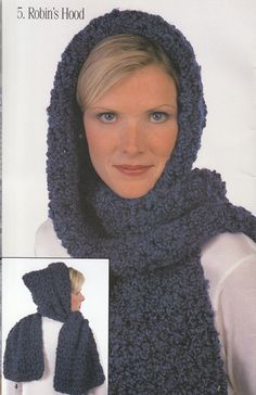 Hooded Scarf                                                                                                                                                                                 More