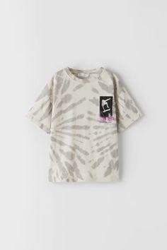 Skater Shirts, Boys Ties, Tie Dye Shirts, Zara United States, Kids Boys, Boy Outfits, Kids Fashion, Crop Tops, Tees