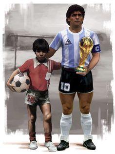 Football Images, Football Love, Sports Images, Soccer World, World Football, Maradona Football, History Of Soccer, Argentina Football, Diego Armando