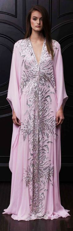 Gorgeous kaftan, beautiful for an event and easily worn modestly with hijab.