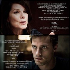 """❤️Fifty Shades Darker❤️After Grace found find out about Christian and Elena"" Fifty Shades Quotes, Shade Quotes, Fifty Shades Movie, Fifty Shades Darker, Fifty Shades Of Grey, Jamie Dornan, Christian Grey Quotes, Christian Gray, 50 Shades Trilogy"