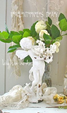 ChiPPy! - SHaBBy!: **LoVe Is In The Air** ViNtAGe Fairy Statue...