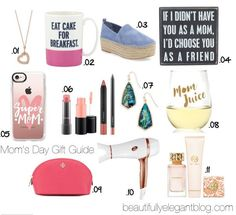 Mother's Day Gift Guide || Beautifully Elegant Blog