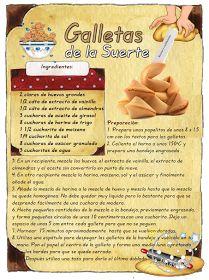 Tartas, Galletas Decoradas y Cupcakes: Galletas de la Suerte - Fortune Cookie