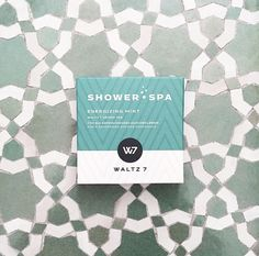 """Showertabs """"Energizing Mint"""" by WALTZ 7 Spa, Mint, Cover, Books, Libros, Book, Book Illustrations, Peppermint, Libri"""