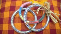 Bracelets jolis, jolis...avec le tuto