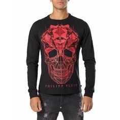 Philipp Plein long sleeve t-shirts, tees for men