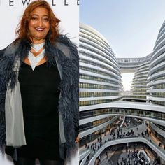 Today remember Zaha Hadid, make her your style icon by wearing all black with a big funky jacket and an interesting #scarf. Hadid was one of the most inspiring architects of our century, and possibly the most famous female one, having designed many statement buildings around the world including this one - the Galaxy SOHO project in central Beijing. #zahahadid #ripzahahadid #architect #design #inspiration #femalepower #build #architecture #silkscarf #foulard #art #style #feminism #fashion