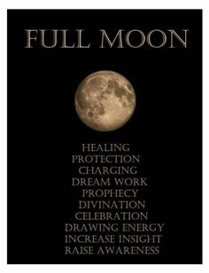 The Full Moon is the ideal time to let go of negative situations, thoughts and people in your life. It's the time to re-evaluate and figure out what is no longer working. Use the Full Moon energy to Manifest your dreams & desires. Full Moon Spells, Full Moon Ritual, Full Moon Meaning, Full Moon Quotes, Next Full Moon, Full Moon Tonight, Affirmations, New Moon Rituals, Moon Calendar