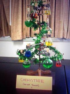 Scheikundige kerstboom