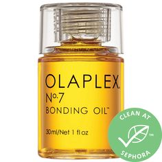 Shop Olaplex's Olaplex No. 7 Bonding Oil at Sephora. A first-of-its-kind, highly concentrated, ultra-lightweight,reparative styling oil. Green Tea Oil, Coily Hair, Frizzy Hair, Thinning Hair, Messy Hair, Vitis Vinifera, Essential Fatty Acids, Perfume, Hair Repair