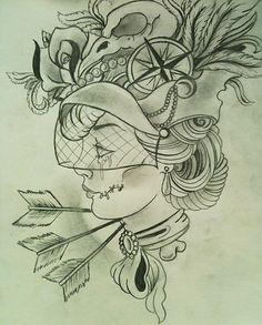 dead gypsy by ~lilmrsfrankenstein on deviantART