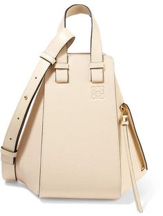 d59d032eb758 Loewe - Hammock Small Textured-leather Shoulder Bag - Ivory. add style