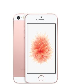 iPhone SE de 16 GB en oro rosa