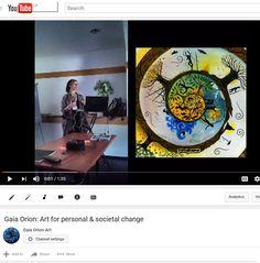 A short talks that presents my work https://www.youtube.com/watch?v=XNcdPWOVKXc #consciousart #visionaryart #societalchange #transformation