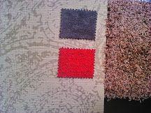 Buscando coordinados #papel pintado, #tapicerías y #alfombra para salón en #Leon