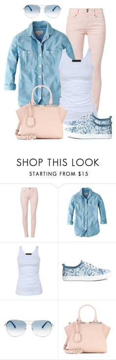 """Casual wear"" by gallant81 ❤ liked on Polyvore featuring Soyaconcept, Jack Wills, Tusnelda Bloch, Roberto Cavalli and Fendi"