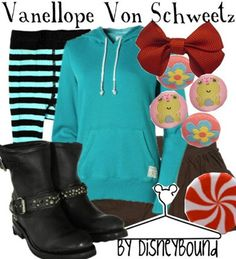 Vanellope - disneybound fashion